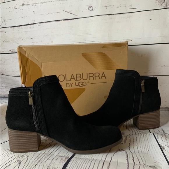 64f7b35bb9f Black Koolaburra By UGG Thia Booties 10.5